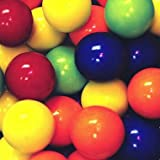 Dubble Bubble Kaboom Mini Jawbreakers Assorted, 21.5 - 22.5mm, 2 Pounds Assorted Fruit Flavors and Colors,