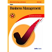 Business Management Higher SQA Past Papers