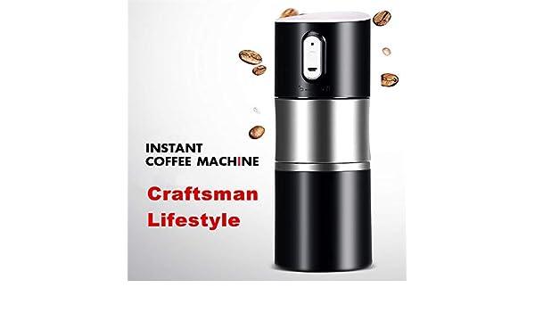 SCZZ Viajes Cafetera, 500Ml USB Eléctrico Máquina De Cápsulas De ...