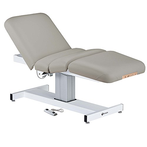 EARTHLITE Electric Massage Table EVEREST – Ultra-Comfortable Spa Bed with Hands-Free Foot Control, UL listed (28″, 30″, 32″ x 73″) – Made in the USA