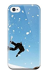 Fashion WdQNZXd1CvpsC Case Cover For Iphone 4/4s(amazing Snowboard )