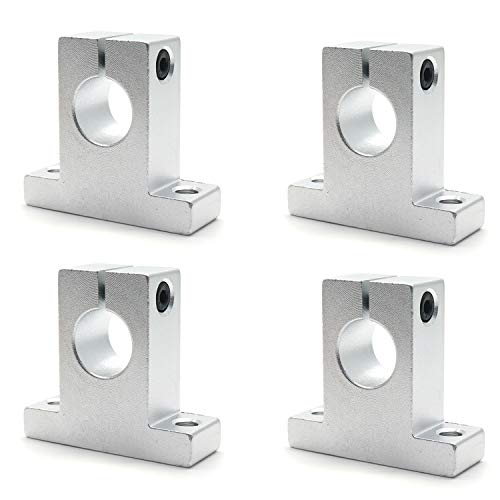 Rannb SK16 Aluminum Linear Motion Rail Clamping Guide Support for 16mm/0.63