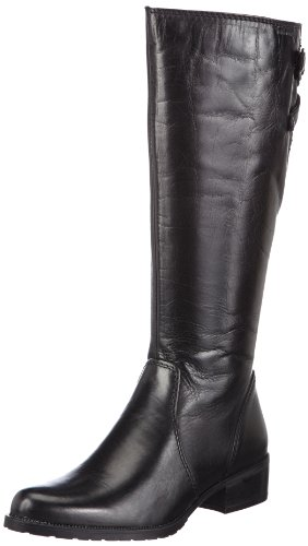 Tamaris 1-1-25621-21, Bottes femme Noir (Black)