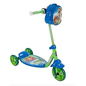 Huffy Boys' Good Dinosaur 3‑wheel Scooter, Green, Blue