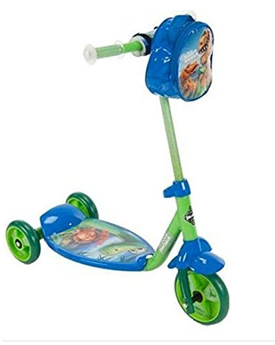 Huffy Boys' Good Dinosaur 3‑wheel Scooter, Green, Blue - Huffy Scooters For Boys