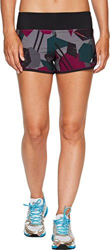 ASICS Women's Every sport Shorts, Frost Grey Shape Collision, Small