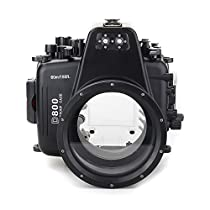 EACHSHOT 60m/195ft Waterproof for Nikon D800 Underwater Camera Housing Case Diving Equipment