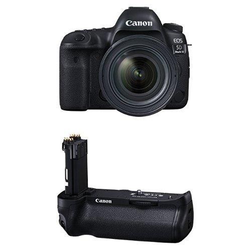 Canon EOS 5D Mark IV Full Frame Digital SLR Camera with EF 24-70mm f/4L IS USM Lens Battery Bundle