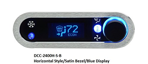 Dakota Digital Climate Control for Vintage Air Gen IV Systems VFD-Style DCC-2400H-S-B