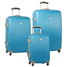 Anne Klein Palm Springs 3 (28/24/20) Luggage Set, Turquoise