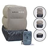 Koala Kloud Adjustable Airplane Footrest - Foot Rest Pillow for Kids | Bedbox, Bed & Footrest | Inflatable Kids Travel Leg Ottoman | Toddler Flight Accessories for Car Seat & Airline