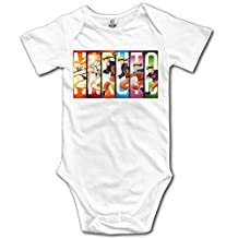 Anime Naruto Cute Short Sleeves Variety Baby Onesies Jumpsuit For Little Baby