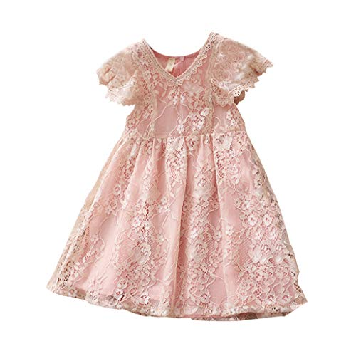Shoes 3t Months Baby Dresses Easter Dress Girls Toddler 40s for Organic Baby Girl Tull Skirts 50s Poodle Skirt Maroon Dressy Maxi 12 paegant(Pink,90)