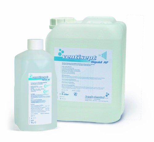 Ventisept liquid AF, 1.000 ml - Hochwirksame Schnelldesinfektion zum Wischen und Sprühen - 1 Flasche