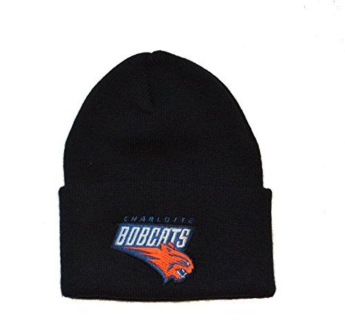 - Charlotte Bobcats Black Cuff Beanie Hat - NBA Hornets Cuffed Knit Toque Cap