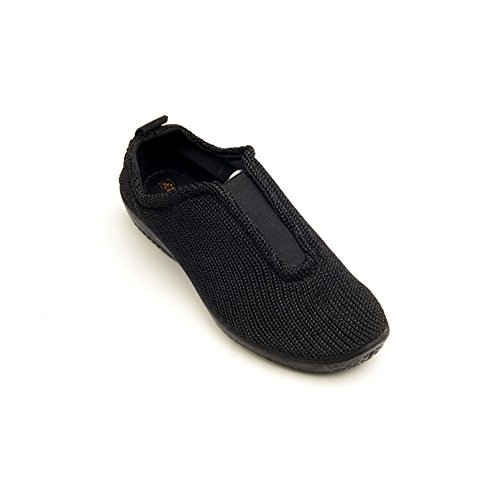 Arcopedico 1171 ES Womens Fashion Sneakers, Black, Size - 38