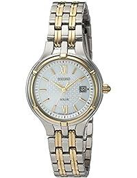 Quartz Stainless Steel Dress Watch, Color:Two Tone (Model: SUT218)