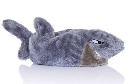 Nifty Kids cosy Novelty Animales 3d Zapatillas Shark