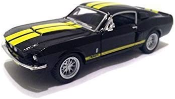KiNSMART KT5372D 1967 Ford Shelby Mustang GT-500 BLACK