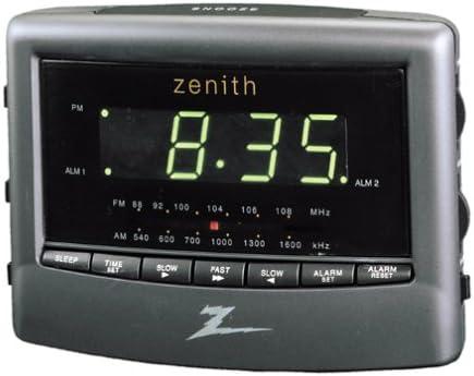 Zenith Z124B Dual Alarm Clock Radio Discontinued by Manufacturer