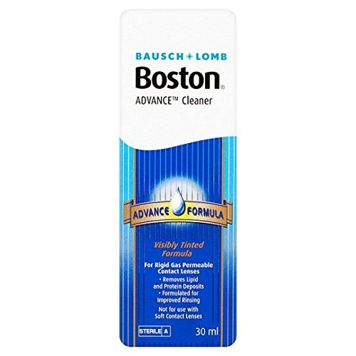 Permeable Contact (Bausch & Lomb Boston Advance Hard & Gas Permeable Contact Lense Cleaner 30ml)