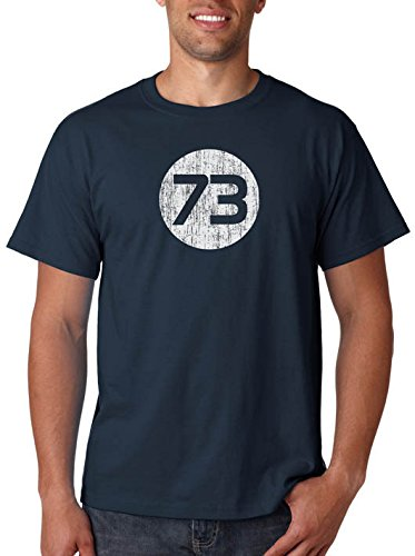 73 T-Shirt From Sheldon's Closet as seen on The Big Bang Theory (Sheldon Cooper Best Number)