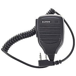 Microfono - Baofeng Microfono Rainproof For Baofeng Uv - 5r - Bf Black