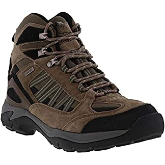 Johnscliffe Scout Mens Suede Hiking Boots Olive/Black 5