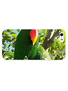 3d Full Wrap Case for iPhone 5/5s Animal Green Parrot