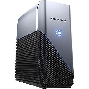 Dell Inspiron Gaming PC Desktop AMD Ryzen 7 2700 Processor, 16GB DRAM, 1TB HDD, AMD Radeon RX 580 4GB GDDR5 Graphics Card, Windows 10 64-bit, Blue LED, Model Number: i5676-A696Blu