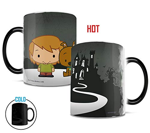 Scooby Doo and Shaggy - Chibi Cartoon Sleuths - Morphing Mugs Heat Sensitive Mug - Color Changing Heat Reveal Coffee Mug - by Trend Setters Ltd. -