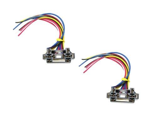 Absolute USA 12 VDC Dual Relay Interlocking Socket, 2 Set