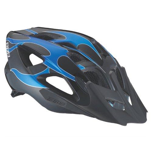 BBB Fahrrad Helm Junior, Schwarz Blau, Größe M