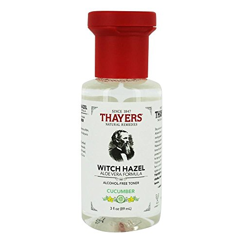 Thayers Cucumber Witch Hazel with Aloe Vera Alcohol-free (3 Ounces) Travel Size