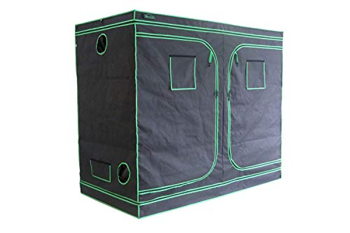 $131.77 Hot Green Hut 96″X48″X78″ 600D Mylar Hydroponic Indoor Grow Tent 2019