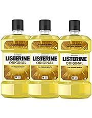 Listerine Original 1L Triple Pack, 1L x3