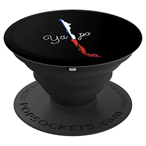 Ya Po - Funny Chile print - Chilean Unisex product PopSockets Grip and Stand for Phones and Tablets (Chile Best Places To Visit)
