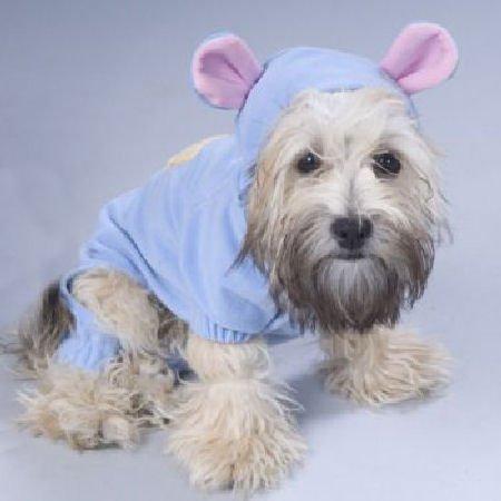 Paw Appeal Bear Jammies Pajamas Blue Medium, My Pet Supplies