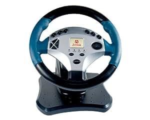 Kit conduccion volante pedales y freno de mano para ps2 y pc
