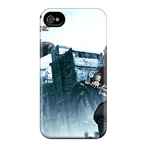 Durable Case For The Iphone 4/4s- Eco-friendly Retail Packaging(game Assassins Creed)