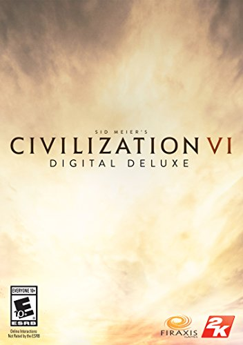 Sid Meier's Civilization VI Digital Deluxe [Online Game Code] (Civ V Brave New World Best Civ)