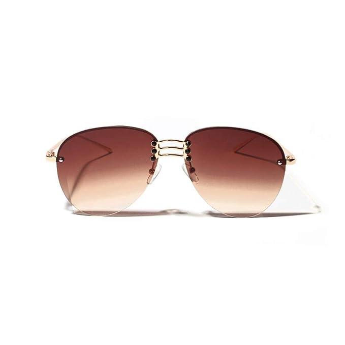 Amazon.com: YaMiFan - Gafas de sol sin llantas, lentes HD ...