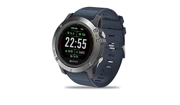 Amazon.com: Tactical SmartWatch V3 HR (Blue): Cell Phones ...