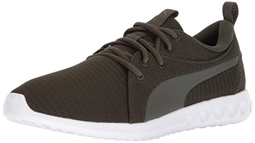 PUMA Men's Carson 2 Sneaker, Forest Night-Castor Gray, 7.5 M US from PUMA