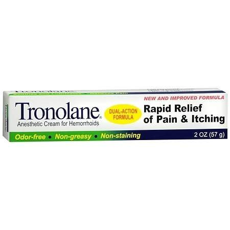 Tronolane Hemorrhoid Cream-LIMITEDD Familysize SP. 2 Oz (6 Pk total)