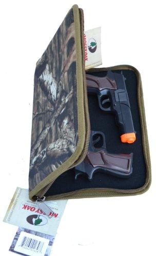 Explorer TC11 Mossy Oak Pistol Soft Case, Handgun Soft Case , 9mm ruger glock Pistol Case, Carry Case, Revolver Case
