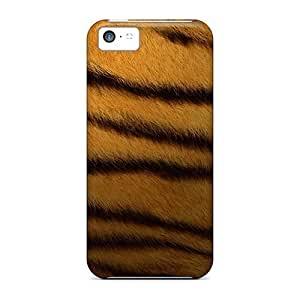 Defender Case For Iphone 5c, Tiger Print Pattern