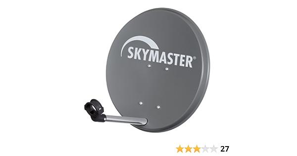 Skymaster 14840 - Antena parabólica (acero, diámetro de 40 cm ...