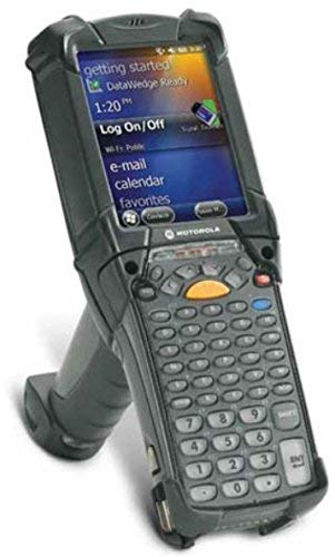 Motorola MC9190 Mobile Computer - WLAN 802.11 A|b|g|Long Range 1d|2d Imager|Color Vga Screen | 256mb|1gb | 53 Key|Wm 6.5 | Bluetooth | MC9190-G90SWEQA6WR (Renewed)