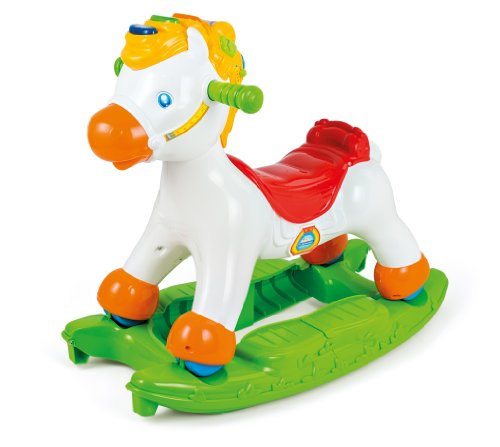 Cavallo Dondolo Chicco Prezzi.Clementoni Clementoni 14430 Martino Il Cavallino Cavalcabile Primi Passi Prima Infanzia 274 Colore Green White 14430